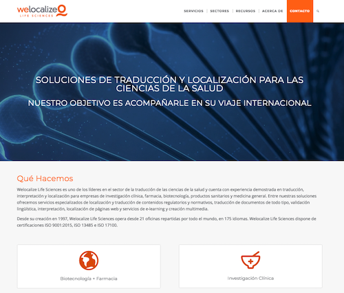 web we localize